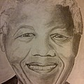 Nelson Mandela by Irving Starr