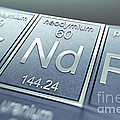 Neodymium Chemical Element by Science Picture Co