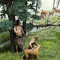 Neolithic Hunting by Jose Antonio Pe�as