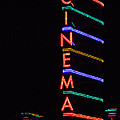 Neon Cinema by Marcia Socolik