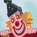 Neon Clown by Eric  Schiabor