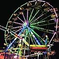Neon Ferris Wheel by Dana Bucy Miller