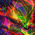 Neon Filigree by Kiki Art