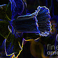 Neon Flowers by Charles Dobbs