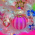 Neon Holiday Tree by Ann Horn