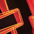 Neon Maze by Ric Bascobert