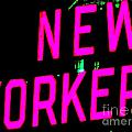 Neon New Yorker by Ed Weidman