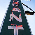 Neon Restaurant Sign by Thomas Marchessault
