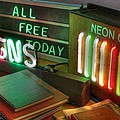 Neon Sign by Jane Linders