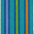 Neon Stripes IIi by Amy Van Helden
