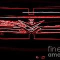 Neon Truck Grill by Susan Garren