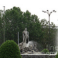 Neptune Fountain In Madrid by Deborah Smolinske