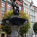 Neptune's Fountain - Gdansk by Christiane Schulze Art And Photography