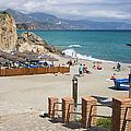 Nerja Beach In Spain by Artur Bogacki