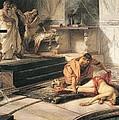 Nero And Agrippina by Antonio Rizzi