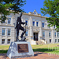 Ness County Courthouse In Kansas by Catherine Sherman