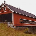 Netcher Road Covered Bridge by Jack R Perry