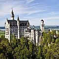 Neuschwanstein Castle In Bavaria Germany by Pam  Elliott