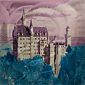 Neuschwanstein Castle  by Metal Art Studio