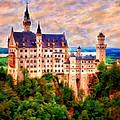 Neuschwanstein Castle by Michael Pickett