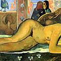 Nevermore.o Taiti by Paul Gauguin