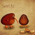New Arrival. Kiwi Bird - Sweet As - Boy by Marlene Watson