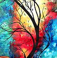New Beginnings Original Art By Madart by Megan Duncanson