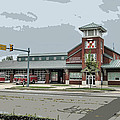 New Bern Fire Department by Victor Montgomery