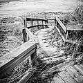 New Buffalo Michigan Boardwalk And Beach by Paul Velgos