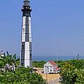 New Cape Henry Lighthouse Vertical by Alan Hutchins
