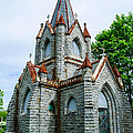 New England Cemetery Mausoleum by Michael Moriarty