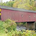 New England Covered Bridge by Barb Montanye Meseroll