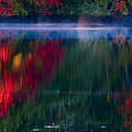 New England Fall Abstract by Dapixara photos