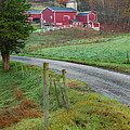 New England Farm by Bill Wakeley
