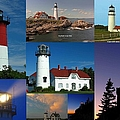 New England Lighthouse Collection by Juergen Roth
