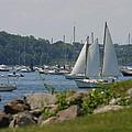 New England Seascape by Denyse Duhaime