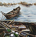 New England Wharf by Xueling Zou