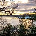 New England Winter Sunset by DAC Photography