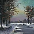 New England Winter Walk by Cecilia Brendel