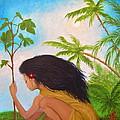 New Garden by Lynn Morgan -                            L L Morgan Art