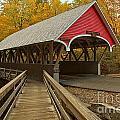 New Hampshire Covered Bridge by Adam Jewell