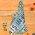New Hampshire License Plate Map Live Free Or Die Old Man Of The Mountain by Design Turnpike