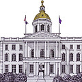 New Hampshire State Capitol by Frederic Kohli