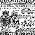 New Jersey Banknote, 1763 by Granger