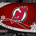 New Jersey Devils Christmas by Joe Hamilton