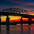 New Jersey Meadowlands Sunset by Susan Candelario