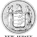 New Jersey State Seal by Granger