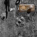 New Lock On Old Door 1 by James Brunker