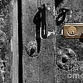 New Lock On Old Door 2 by James Brunker