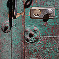 New Lock On Old Door 3 by James Brunker